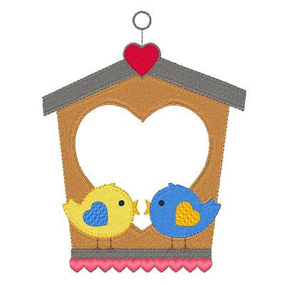 Love birds machine embroidery design by sweetstitchdesign.com