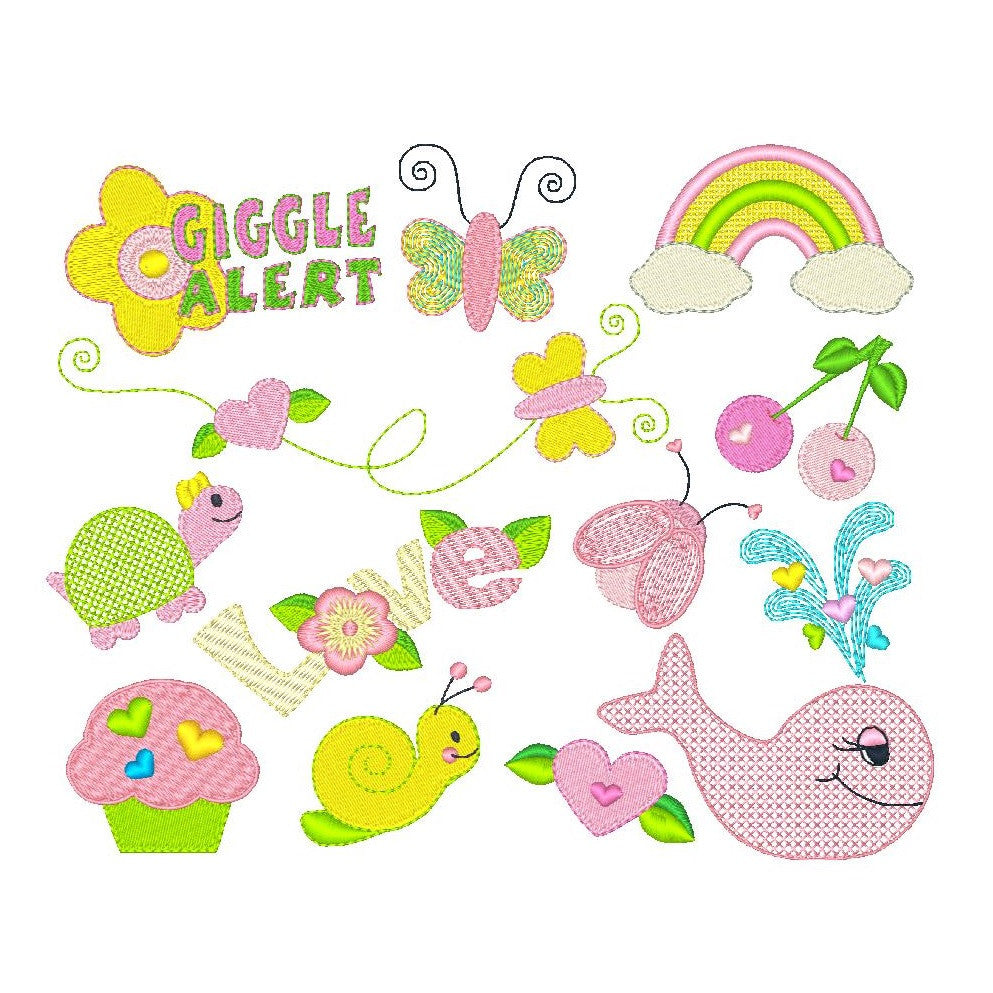 Cute designs for girls by sweetstitchdesign.com