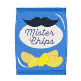 Potato chips machine embroidery design by sweetstitchdesign.com