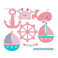 Nautical machine embroidery designs by sweetstitchdesign.com