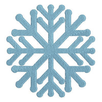 Christmas snowflake machine embroidery design by sweetstitchdesign.com