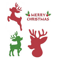 Christmas reindeer machine embroidery designs by sweetstitchdesign.com