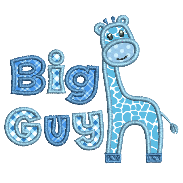 Giraffe applique machine embroidery design by sweetstitchdesign.com