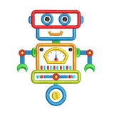 Robot applique machine embroidery design by sweetstitchdesign.com
