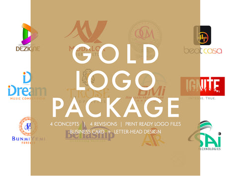 Gold Logo Package - CC Brand
