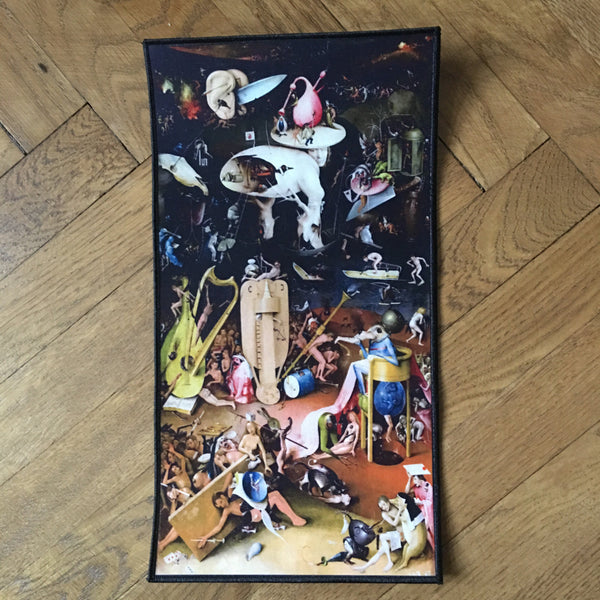 Art Major - Hell Panel - The Garden of Earthly Delights - Back patch