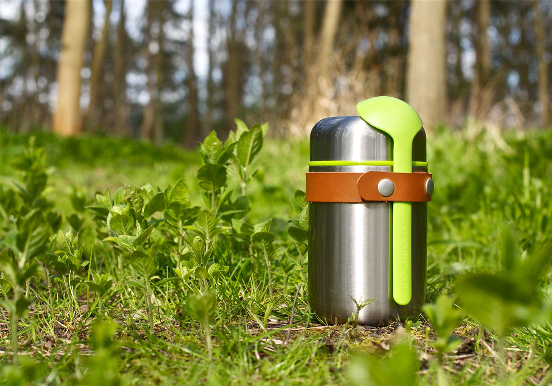 Steel Insulated Vacuum Food Flask Woods