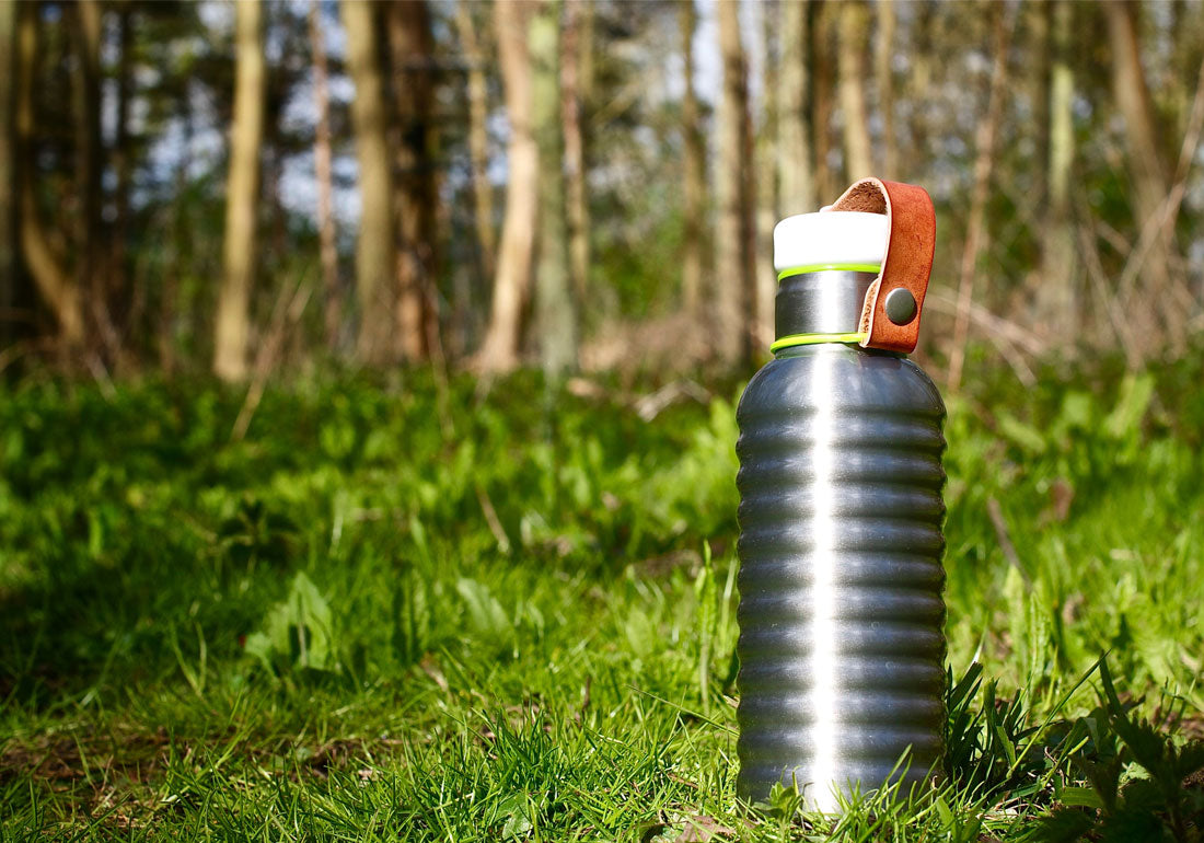 Water Bottle Steel Insulated Vacuum Woods
