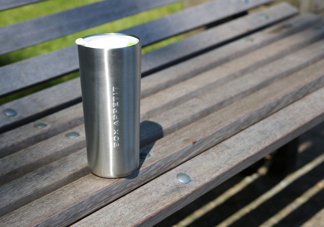 Stainless Steel Travel Mug Bench