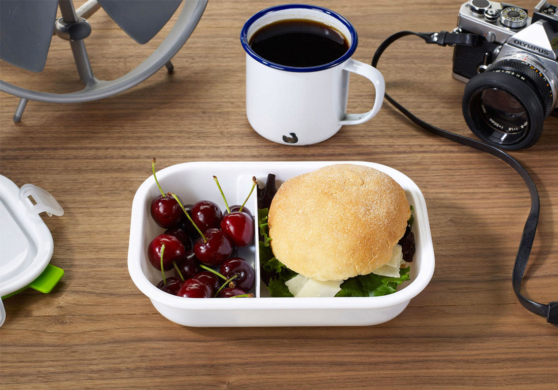 Lunch Box Food Container Rectangle Desk