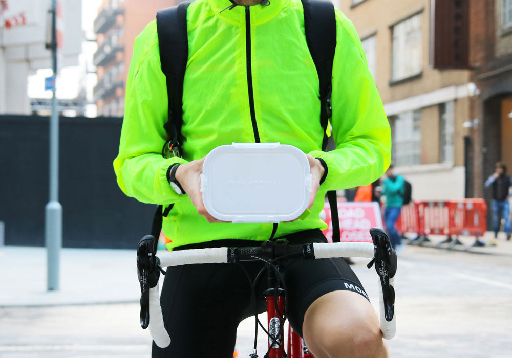 box appetit lunch box rectangle cycling by black and blum