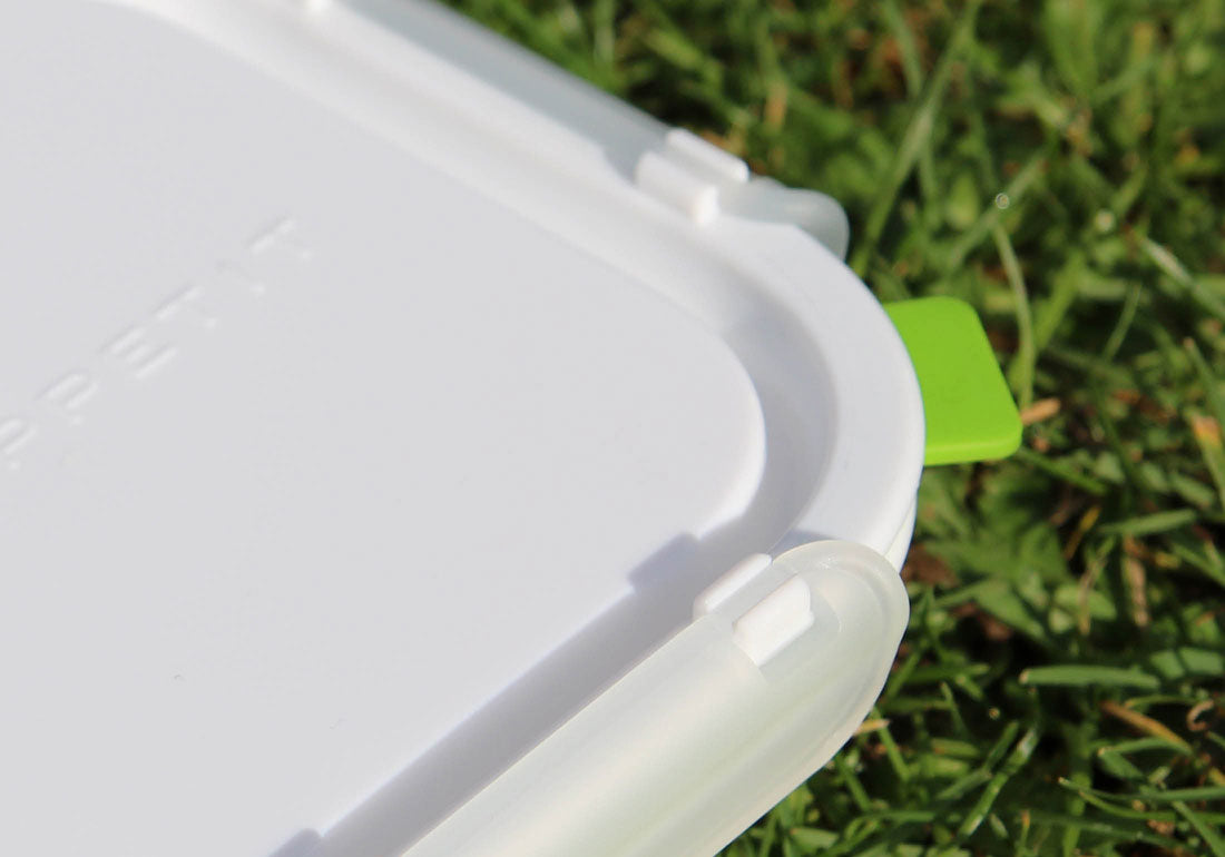 Lunch Box Food Container Square Detail