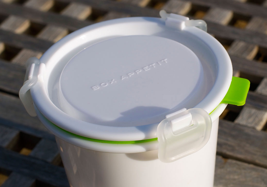 Food Container Lunch Breakfast Pot Detail
