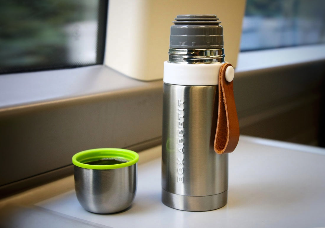 Steel Thermos Flask Train