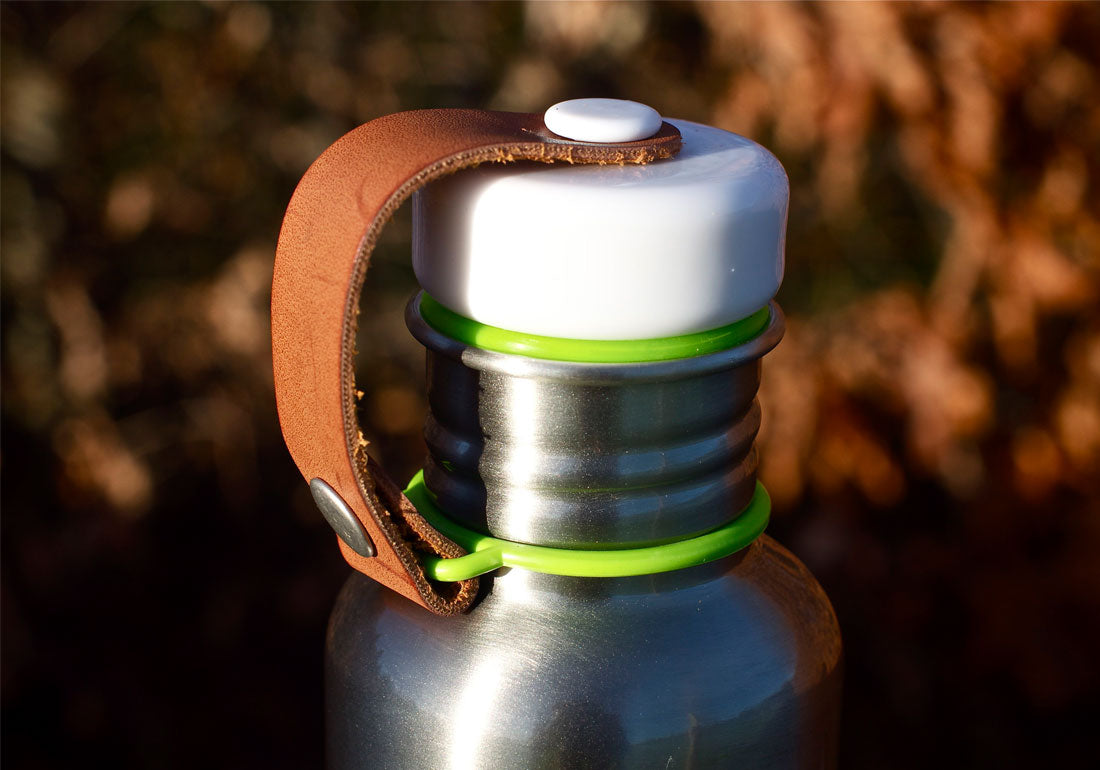Steel Water Bottle Detail
