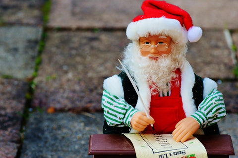 santa, list, naughty, nice, healthy food, lunch box, box appetit
