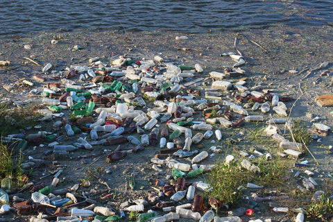 plastic, bottles, disposable plastic, landfill, pollution, earth day