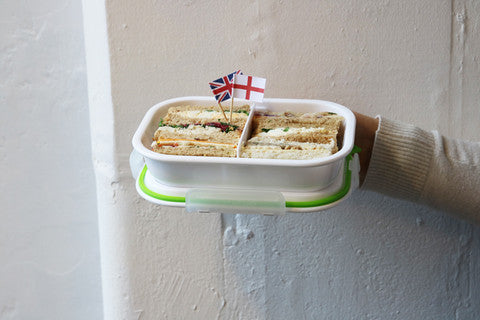 sandwich, lunch box, box appetit