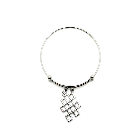 Celtic Knot Charm Bangle