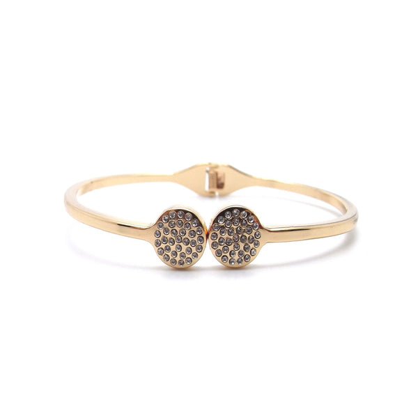 Oh Crystal Bangle - Rose Gold