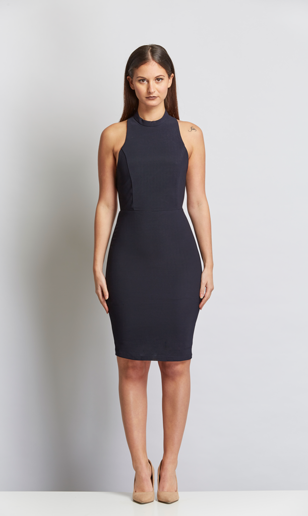 Catalona Cross Back Dress