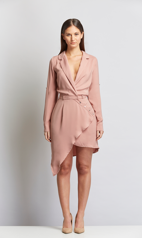 blush shirt dress party stylefierce