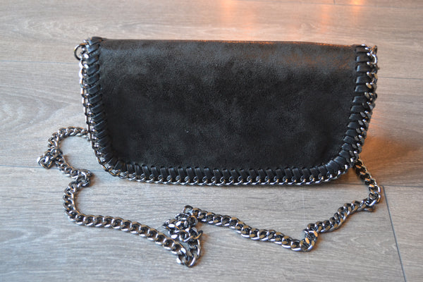 Chain Shoulder bag - Black