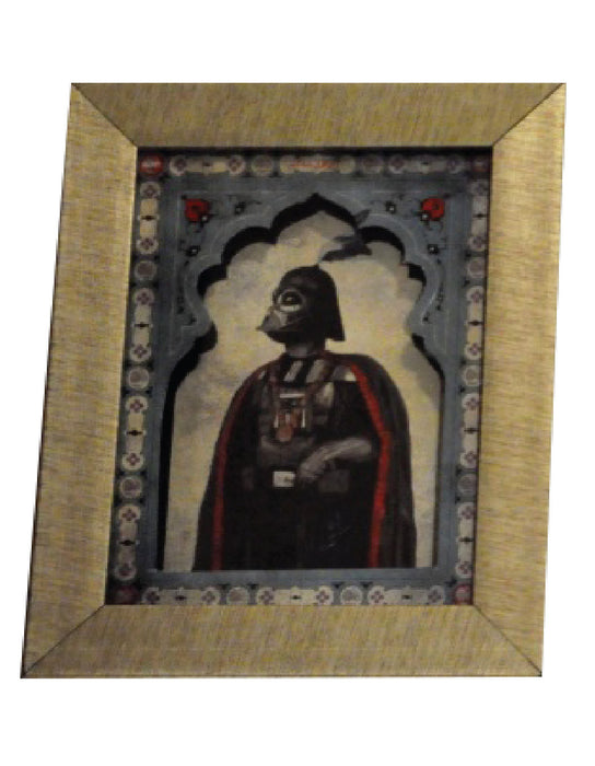 Mughal Star Wars Miniature Prints
