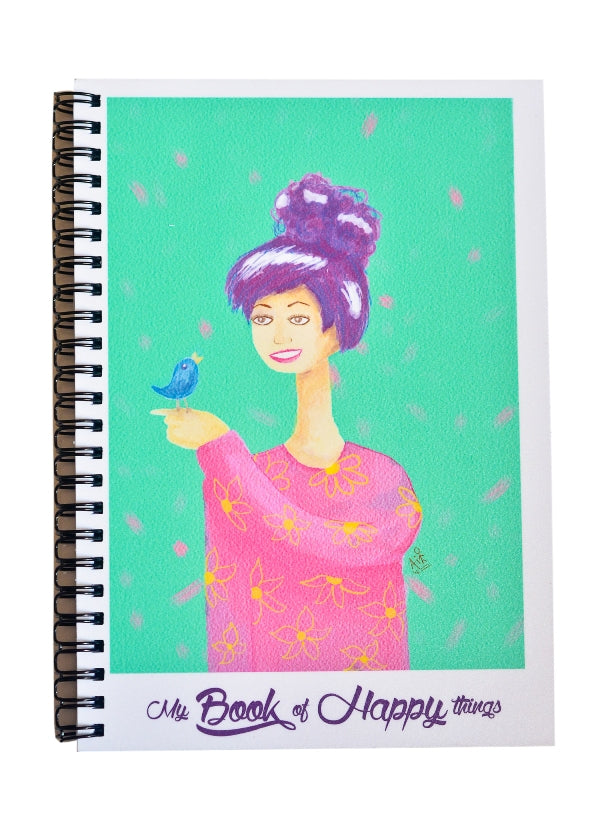 Happy Things Note Book