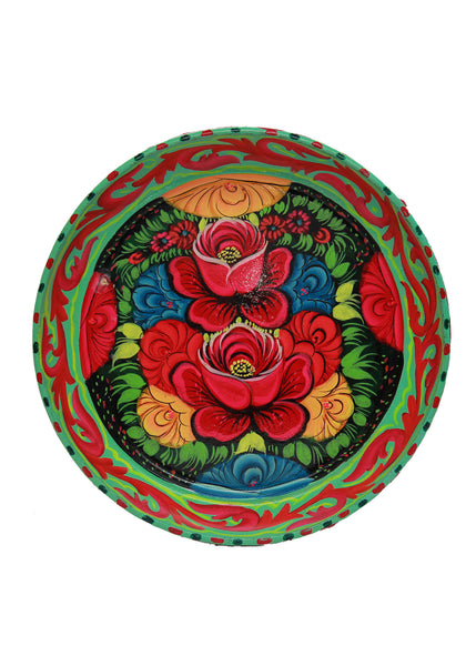 Truck Art Pair of Roses Tray