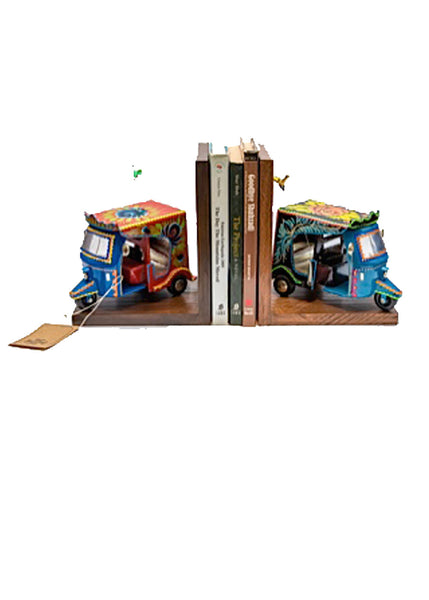 Rickshaw Bookends
