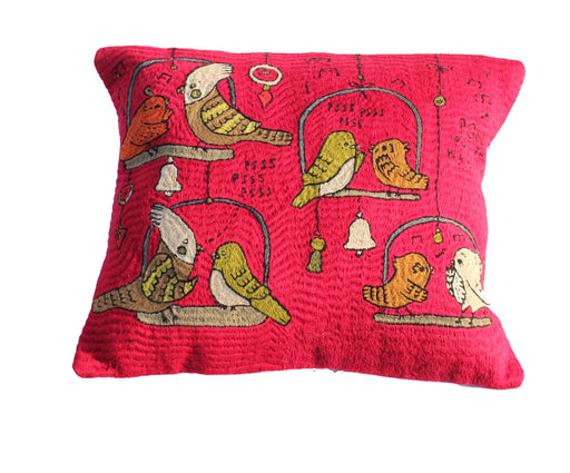 Polly's Parrot Cushion