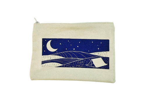 Wonkyscapes: Moonland, ii, canvas pouch