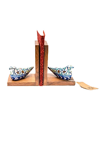 Chirya (bird) Book-ends