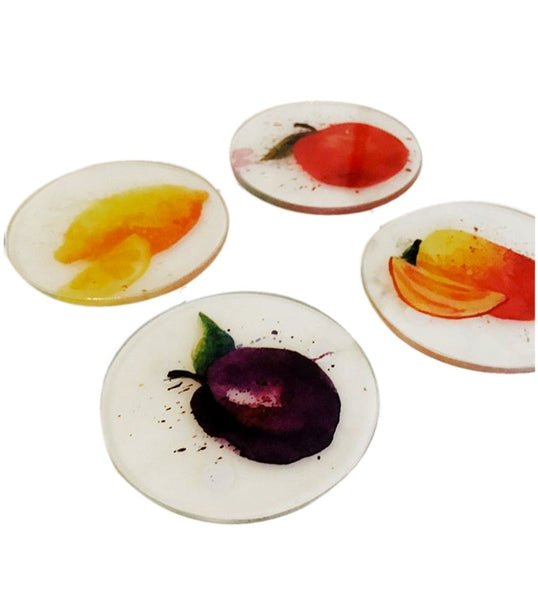 Fruits Glass Coaster