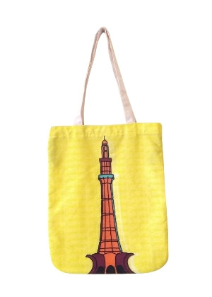 Minar e Pakistan Tote Bag