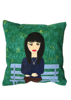 'On the bench' Cushion