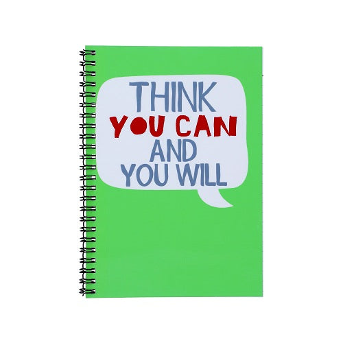 Notebook - Think You Can and You Will