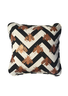'Golden bees'  Cushion