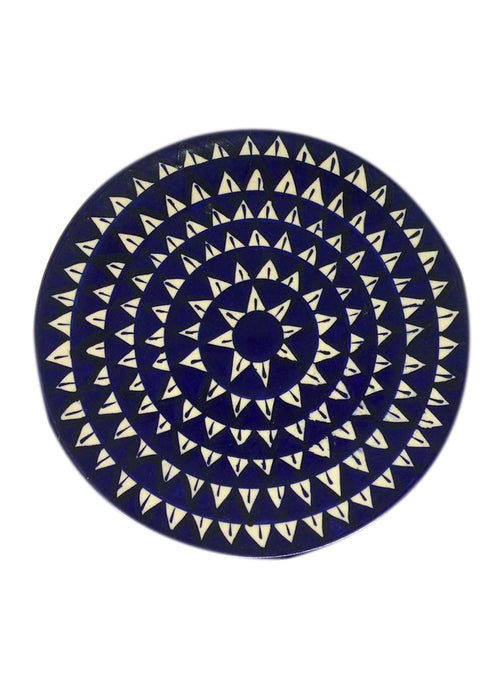 Dinner Plate - Jhandi Triangle
