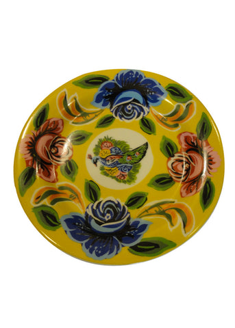 Cake Plate - Set of Two - Yellow
