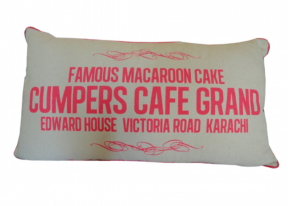 Cumpers Grand Hotel Cushion