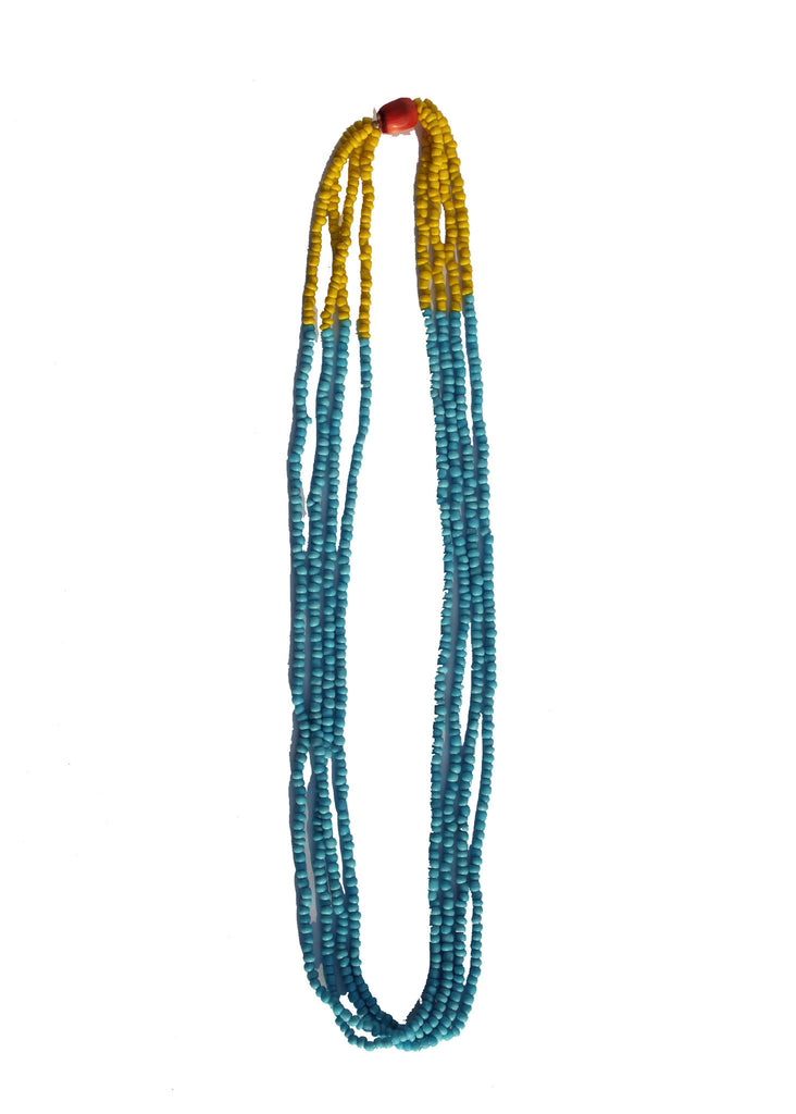Kalash Sun & Sky Large Bead Necklace