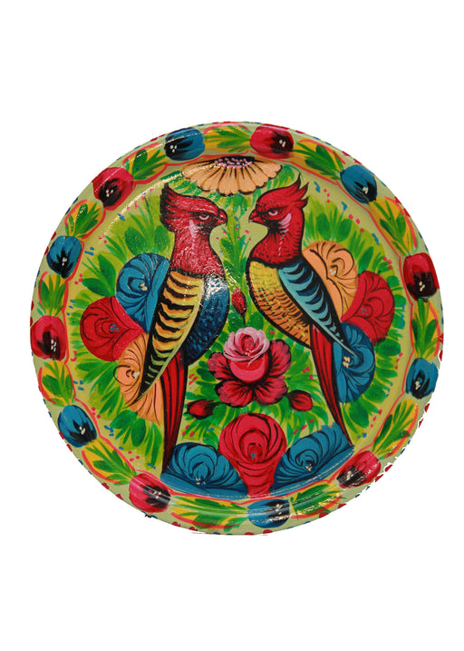 Truck Art Two Parrots Tray
