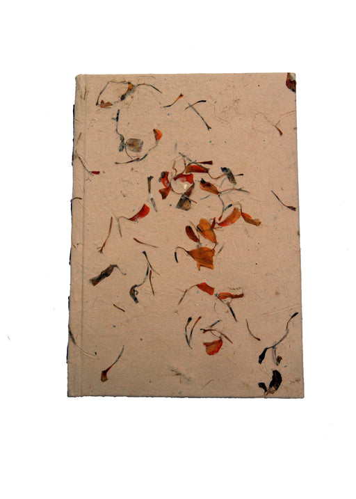 Hard Back Diary in Flower Petals