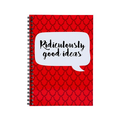 Notebook - Ridiculously Good Ideas