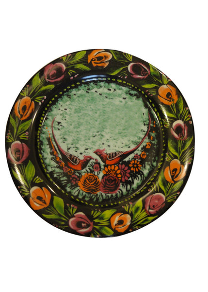 Cake Plate - Set of Two - Two Birds