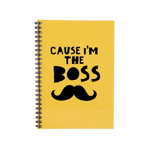 Notebook - Cause I Am The Boss