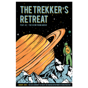 The Trekker's Retreat Print