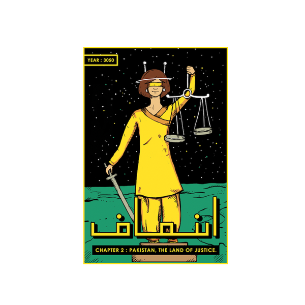 Lady of Justice Postcard